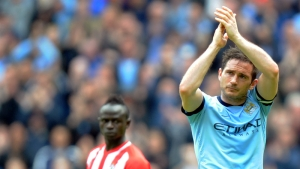 Lampard applauding fans